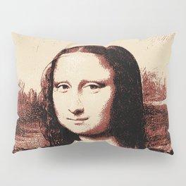 Mona Lisa Vintage Pillow Sham
