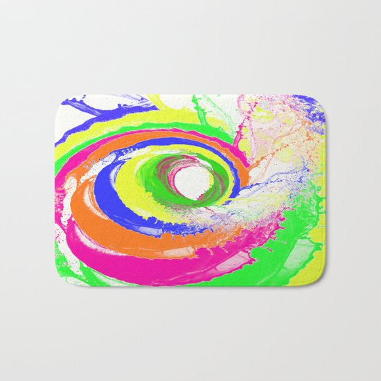 Whirlpool of Colour Bath Mat