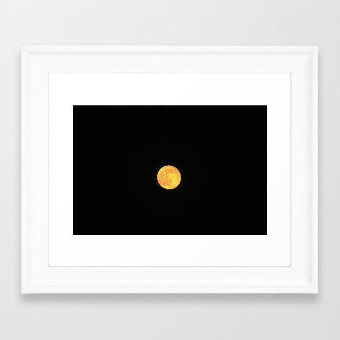 Honey Moon Framed Art Print