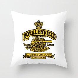 royalenfield Throw Pillow