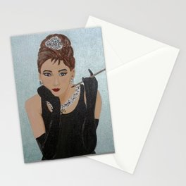 Breakfast in Tiffany homage Stationery Cards