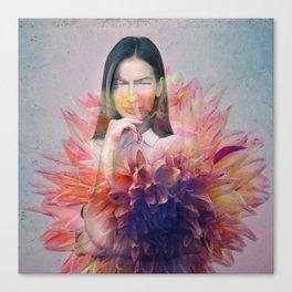Absent senses Canvas Print
