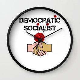 Democratic Socialists Of America Wall Clock