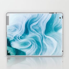 Marble sandstone - oceanic Laptop & iPad Skin