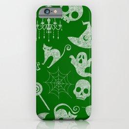 Green Chalkboard iPhone Case