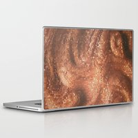 copper Laptop & iPad Skins featuring Copper by Ellie Rose Flynn