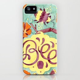 Persistence is Bee iPhone Case
