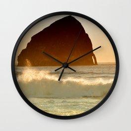 CAPE KIWANDA - OREGON - PACIFIC COAST Wall Clock