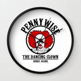 The dancing clown Wall Clock