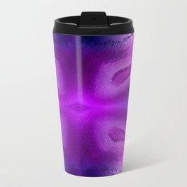 Agate Dreams in purple Travel Mug