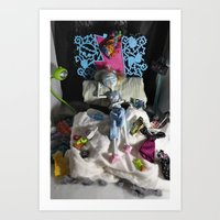 Sloth - As Told By Monster High Dolls Art Print
