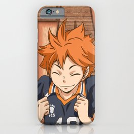 Haikyuu!! Shoyou Mug Design iPhone Case