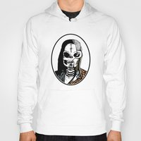 kurt cobain Hoodies featuring Skull Cobain by zombieCraig by zombieCraig