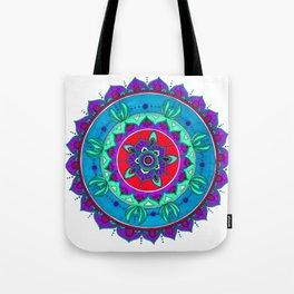 Little Mermaid Inspired Mandala Art Tote Bag