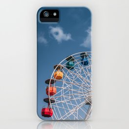 Colourful Ferry Wheel iPhone Case