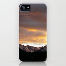 Sunset on Trail Ridge 3 iPhone Case