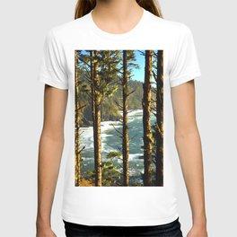 View through the treesV T-shirt