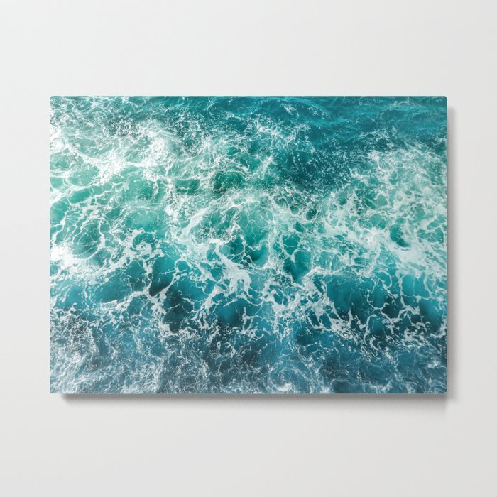 dancing waves Metal Print