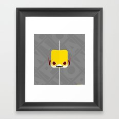 Marshmallow Reverse-Flash Framed Art Print