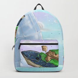 flying whale Backpack