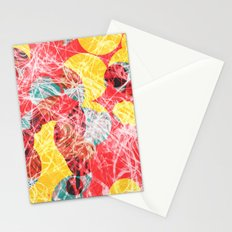 Colorful abstract artwork Stationery Cards