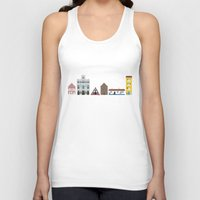 portugal Tank Tops featuring Portugal by Jessica Triana