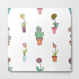 The Odd Flower Metal Print