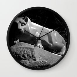 Penn State Nittany Lion Shrine Wall Clock