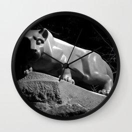 Penn State Nittany Lion Shrine Wall Clock