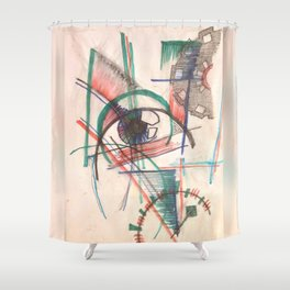 Engineers Prospective Shower Curtain