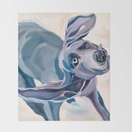 Great Dane Dog Shake Throw Blanket