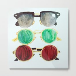 Ray of Sunnies Metal Print