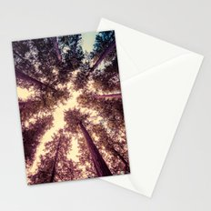 Forest Sky - Reaching Woods Stationery Cards