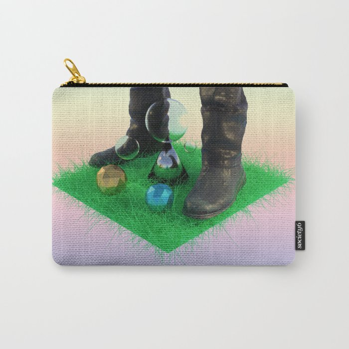 Over Grown Carry-All Pouch