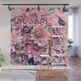 Flower | Photography | Pink Blossoms | Spring | Pattern Wall Mural
