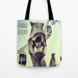 He might bite! Tote Bag