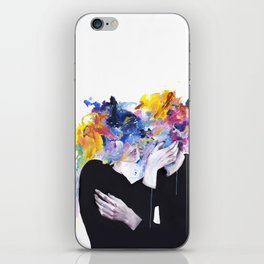 intimacy on display iPhone Skin