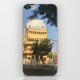 Tel Aviv Pagoda House - Israel iPhone Skin