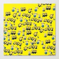 minions Canvas Prints featuring Minions by Illuminany