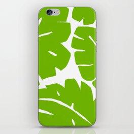 Jungle Leaf iPhone Skin