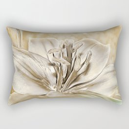 Gilded Lily Rectangular Pillow