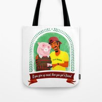 vegan Tote Bags featuring Vegan by Bakal Evgeny