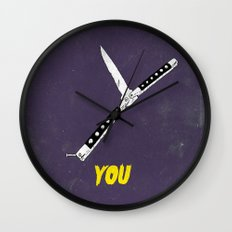 OH NO YOU DIDN'T 3 of 4 Wall Clock
