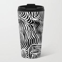 black flow Travel Mug