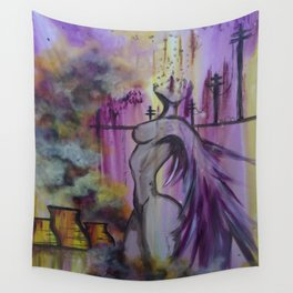 Toxic Angel Wall Tapestry