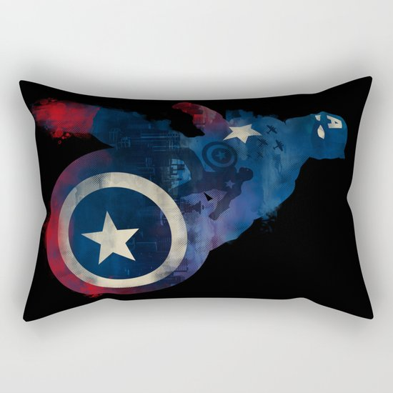 For Truth And Justice Rectangular Pillow