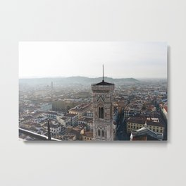 Florence from the Duomo Metal Print