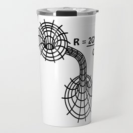 Black hole - The Schwarzschild Radius - Gravitational Radius Travel Mug