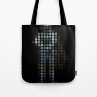 hunter x hunter Tote Bags featuring Hunter by Triplea