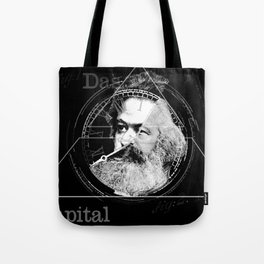 The Time of Marx Dark Tote Bag